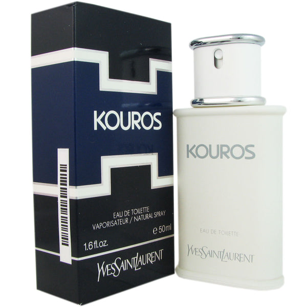Kouros for Men by Yves Saint Laurent 1.6 oz Eau de Toilette Natural Spray