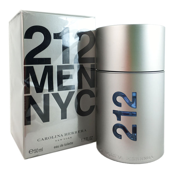 212 Carolina Herrera for Men 1.7 oz 50 ml Eau de Toilette Spray