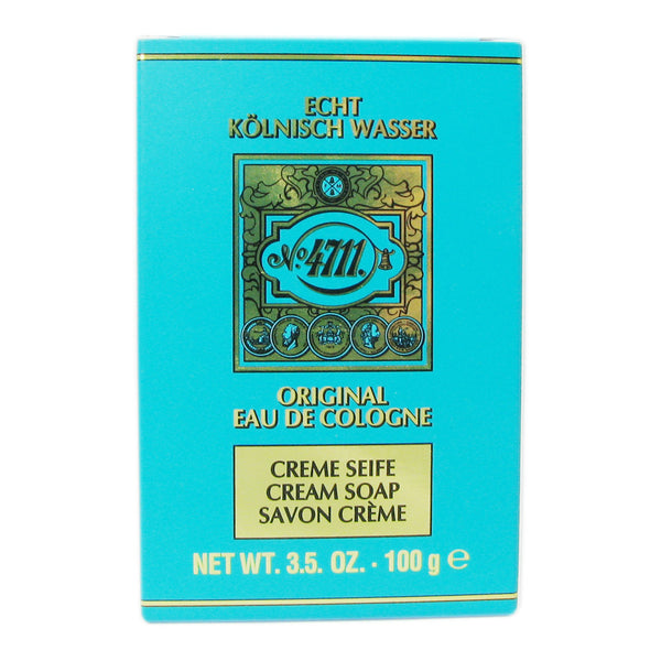 4711 Cologne Cream Soap by Muelhens - 1 Soap of 3.5 oz