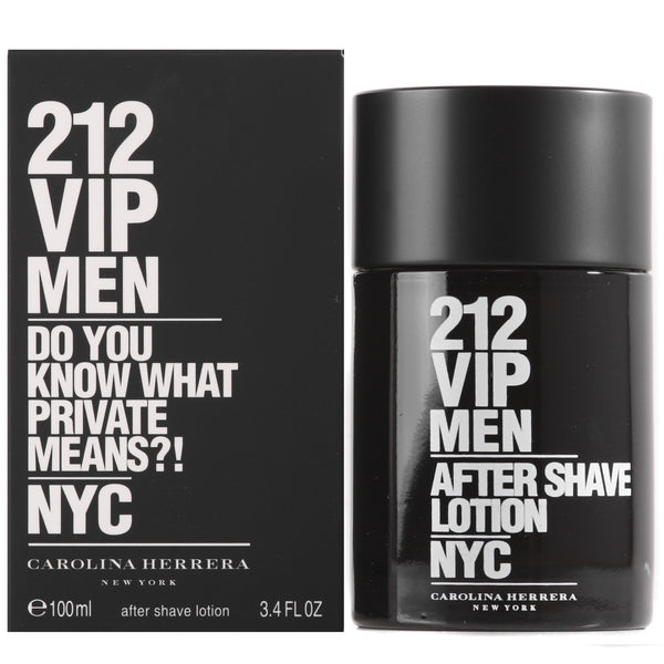212 VIP Men for Men by Carolina Herrera 3.4 oz After Shave Lotion