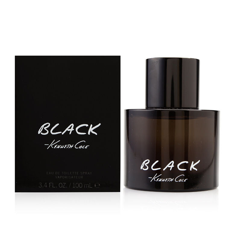 Black by Kenneth Cole for Men 3.4 oz Eau de Toilette Spray