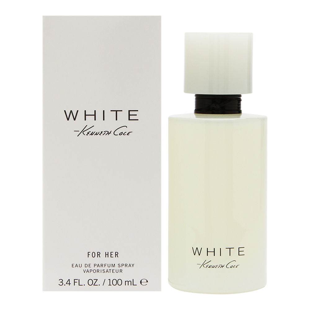 Kenneth Cole White by Kenneth Cole for Women 3.4 oz Eau de Parfum Spray