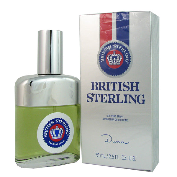 British Sterling for Men by Dana 2.5 oz Eau de Cologne Spray