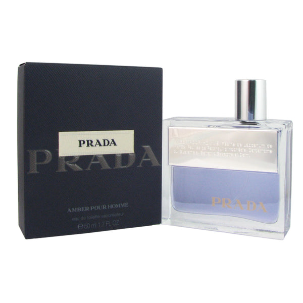 Prada Prada Amber Eau De Toilette Spray for Men 1.7 oz