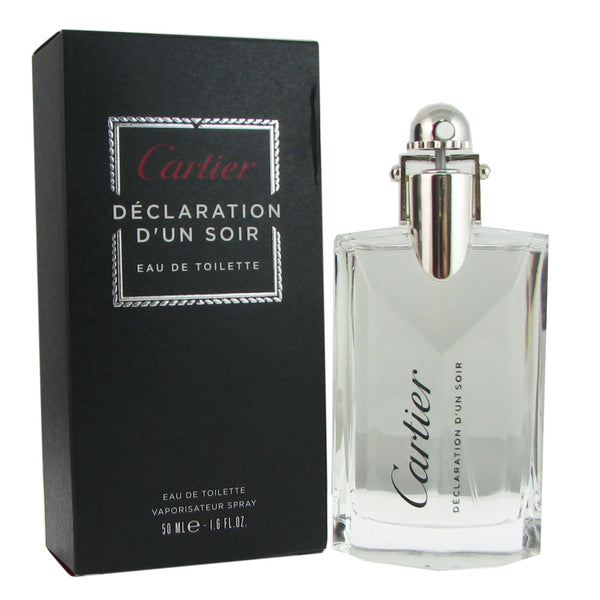 Declaration d'un Soir for Men by Cartier 1.6 oz Eau de Toilette Spray