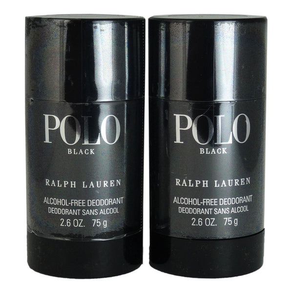Polo Black by Ralph Lauren 2.6 oz Alcohol Free Deodorant Stick Two