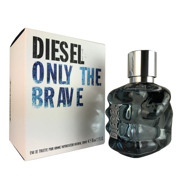 Diesel Only The Brave For Men by Diesel 1.1 oz Eau De Toilette Spray
