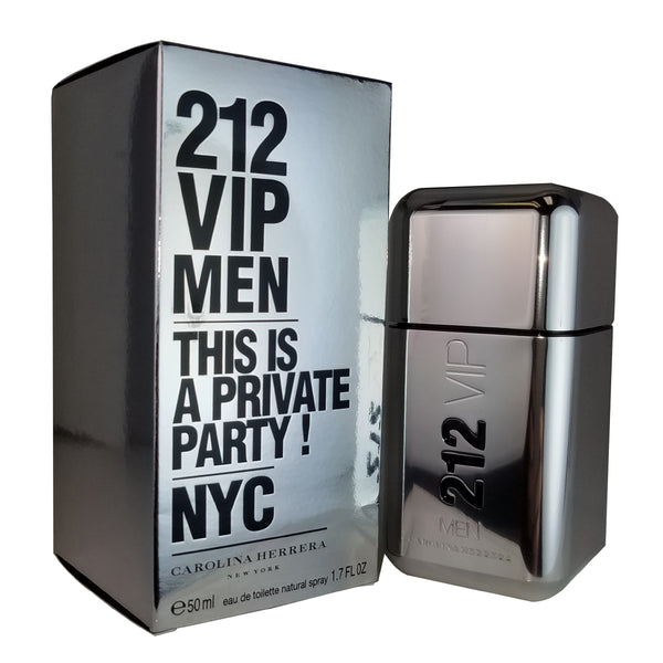 212 VIP Men for Men by Carolina Herrera 1.7 oz Eau de Toilette Spray