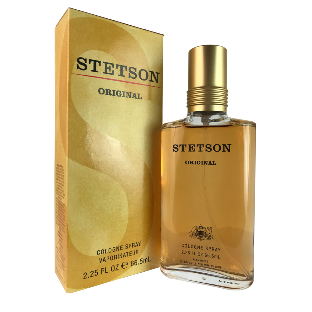 Stetson Original For Men By Coty 2.25 oz Eau De Cologne Spray