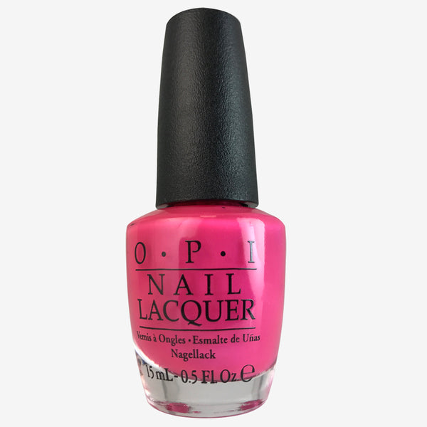 OPI Nail Lacquer - Hotter Than You Pink 0.5 oz