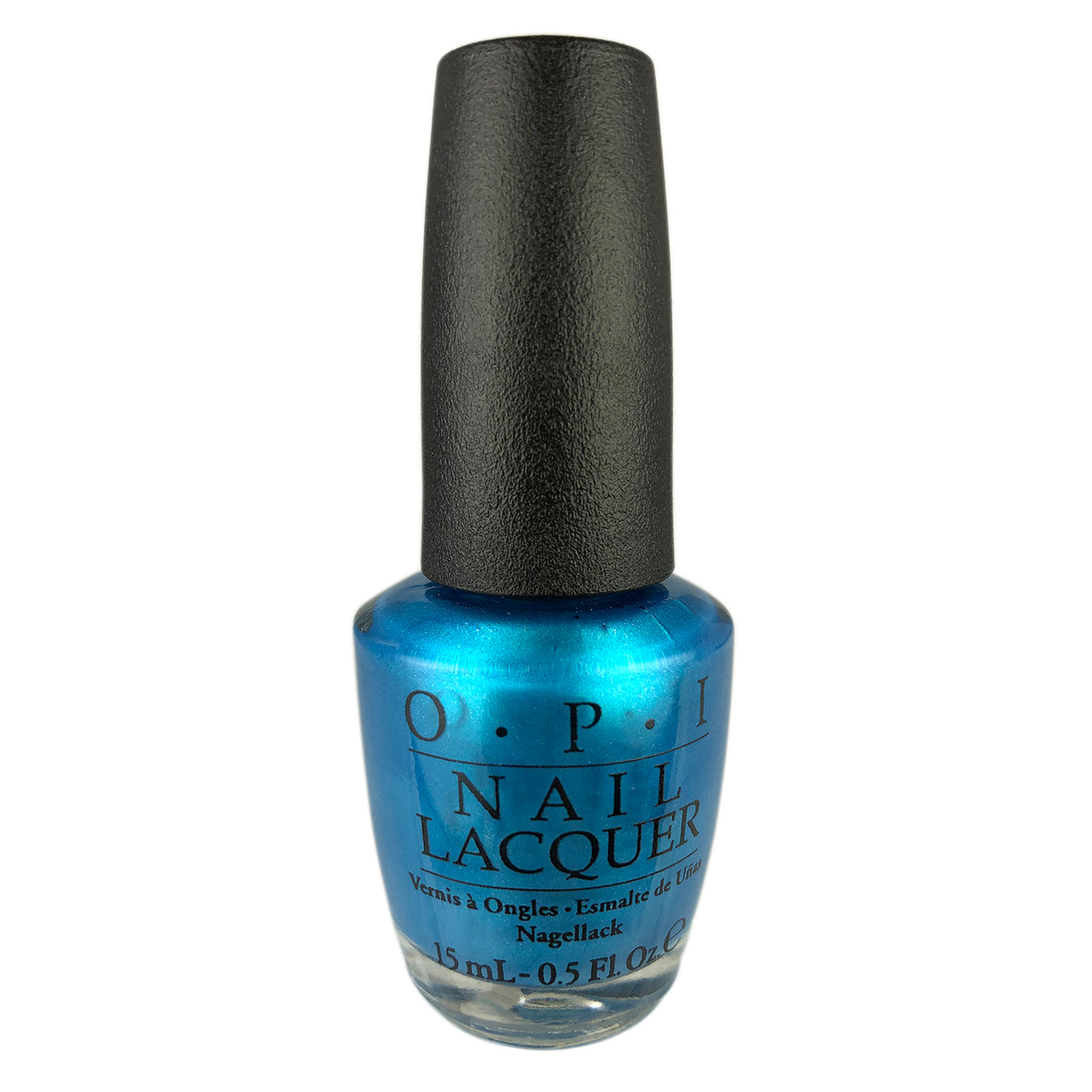 OPI Nail Lacquer-Teal The Cows Come Home  .5 oz