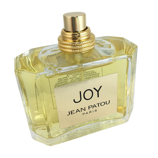 Joy for Women by Jean Patou 2.5 oz Eau de Parfum Spray Tester