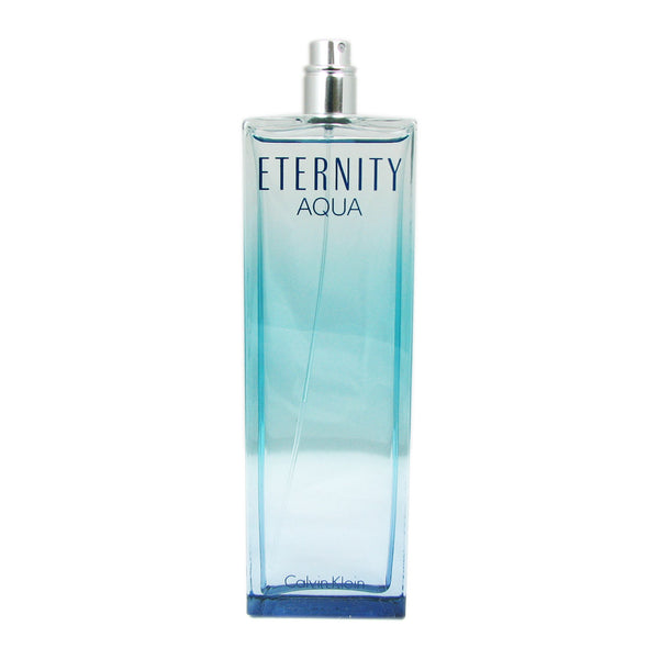 CK Eternity Aqua for Women by Calvin Klein 3.3 oz Eau de Parfum Spray Tester