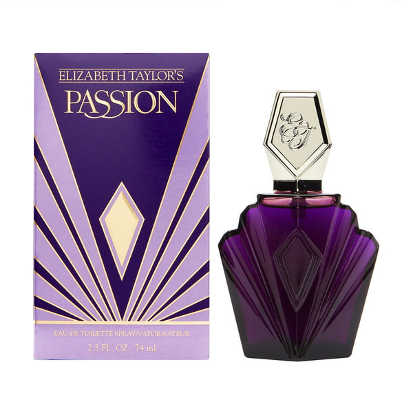 Passion For Women by Elizabeth Taylor 2.5 oz Eau de Toilette Spray
