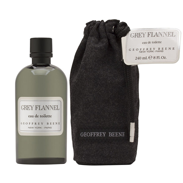 Grey Flannel by Geoffrey Beene for Men 8.0 oz Eau de Toilette Splash with Pouch