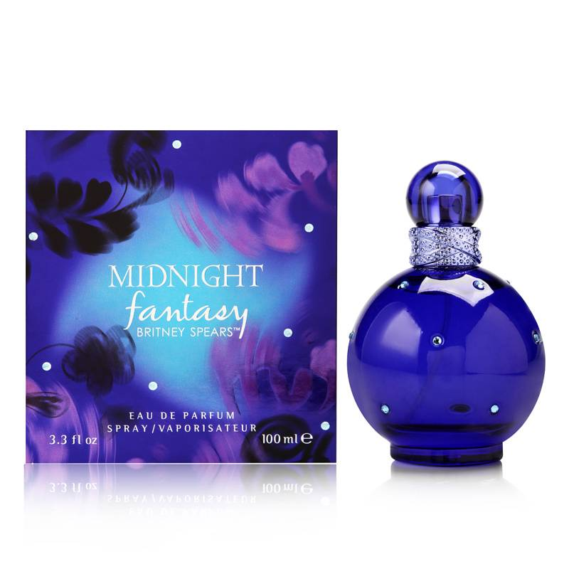 Midnight Fantasy For Women by Britney Spears 3.3 oz Eau de Parfum Spray