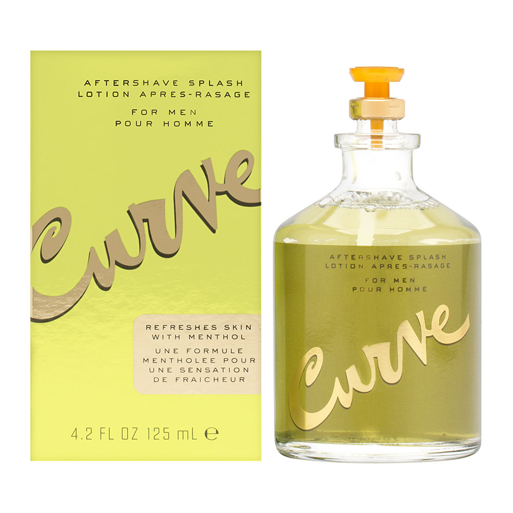 Curve For Men by Liz Claiborne 4.2 oz Aftershave Splash