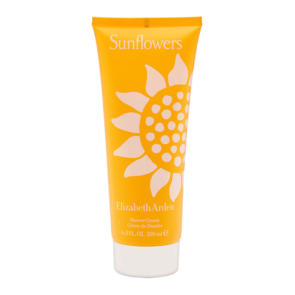 Sunflowers by Elizabeth Arden for Women 6.8 oz Shower Cream