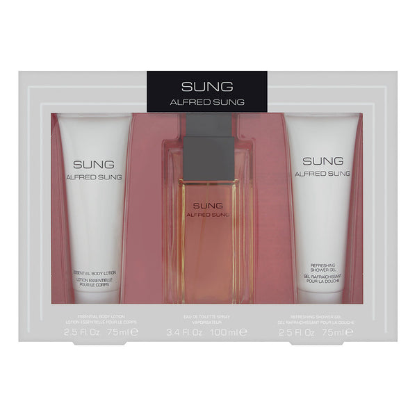 Sung For Women by Alfred Sung 3 Piece Set