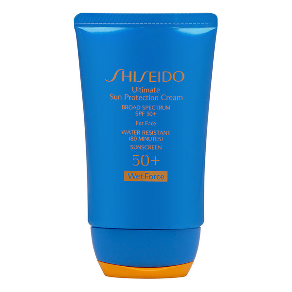 Shiseido Ultimate Sun Protection Cream for Face SPF 50+ Wetforce 50ml/2oz