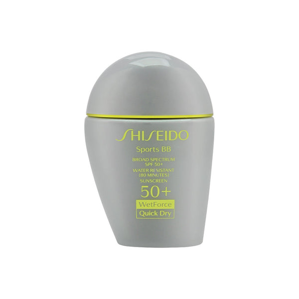 Shiseido Sports BB Wetforce Quick Dry SPF 50+ Dark 30ml/1oz - Dark
