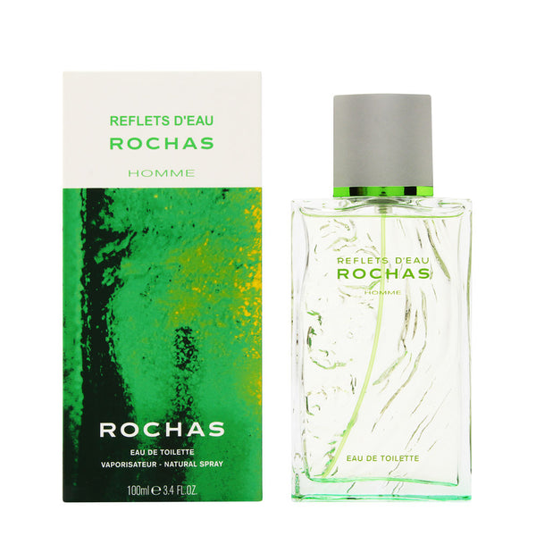Reflets D'Eau Rochas for Men 3.4 oz Eau de Toilette Spray