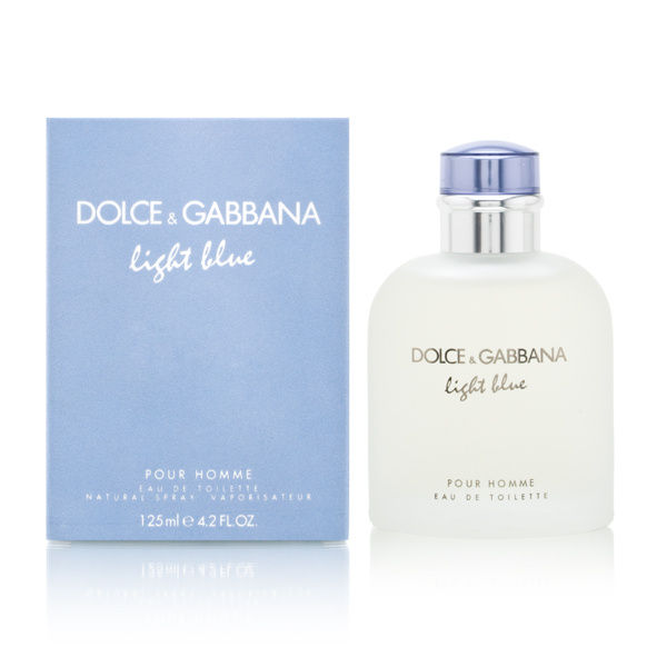Light Blue by Dolce & Gabbana for Men 4.2 oz Eau de Toilette Spray