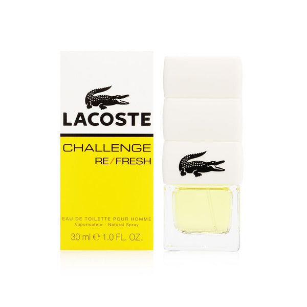 Lacoste Challenge Refresh by Lacoste for Men 1.0 oz Eau de Toilette Spray