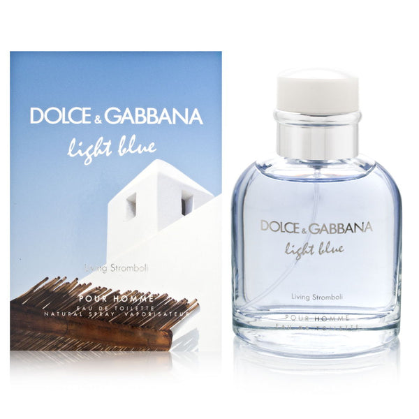 Light Blue Living Stromboli by Dolce & Gabbana for Men 4.2 oz Eau de Toilette Spray