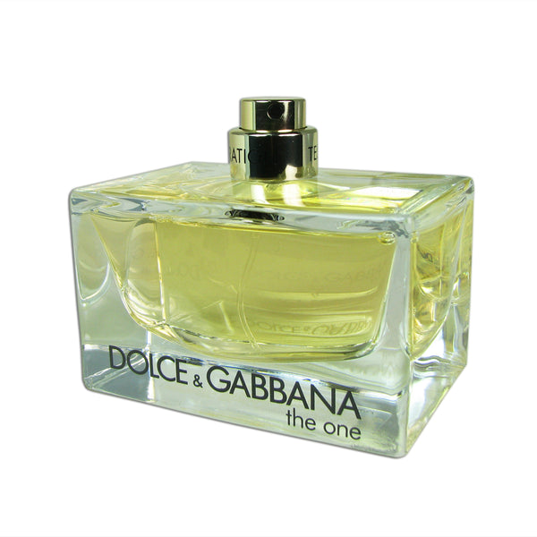 Dolce and Gabbana The One For Women by D&G 2.5 oz Eau De Parfum Spray Tester