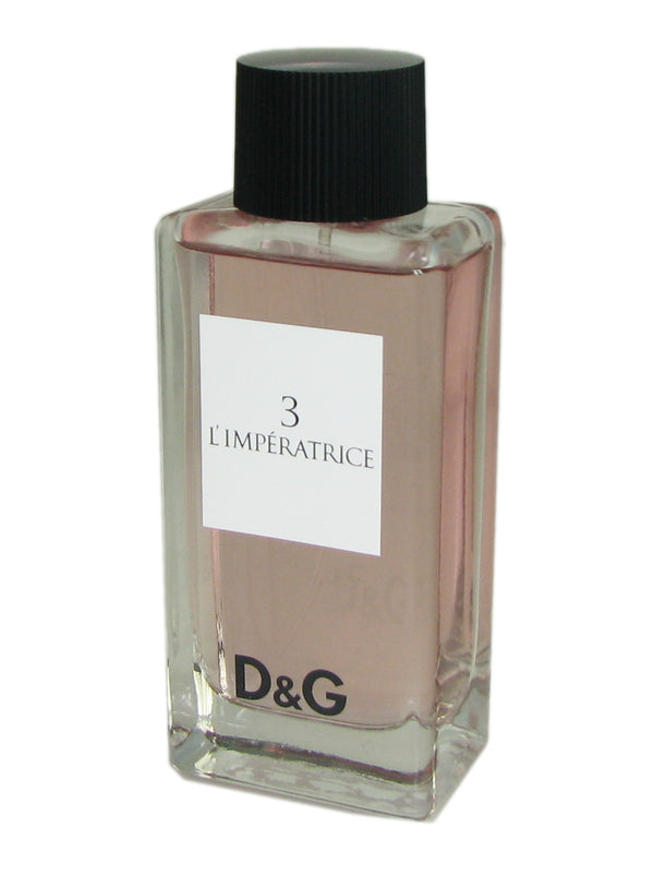 3 L'Imperatrice for Women by Dolce & Gabbana 3.3 oz Eau de Toilette Spray Tester