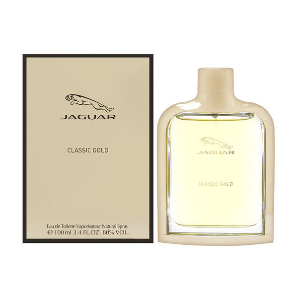 Jaguar Classic Gold by Jaguar for Men 3.4 oz Eau de Toilette Spray