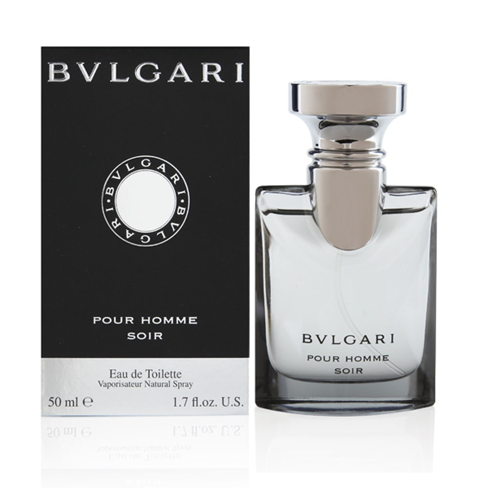 Bvlgari Pour Homme Soir by Bvlgari for Men 1.7 oz Eau de Toilette Spray
