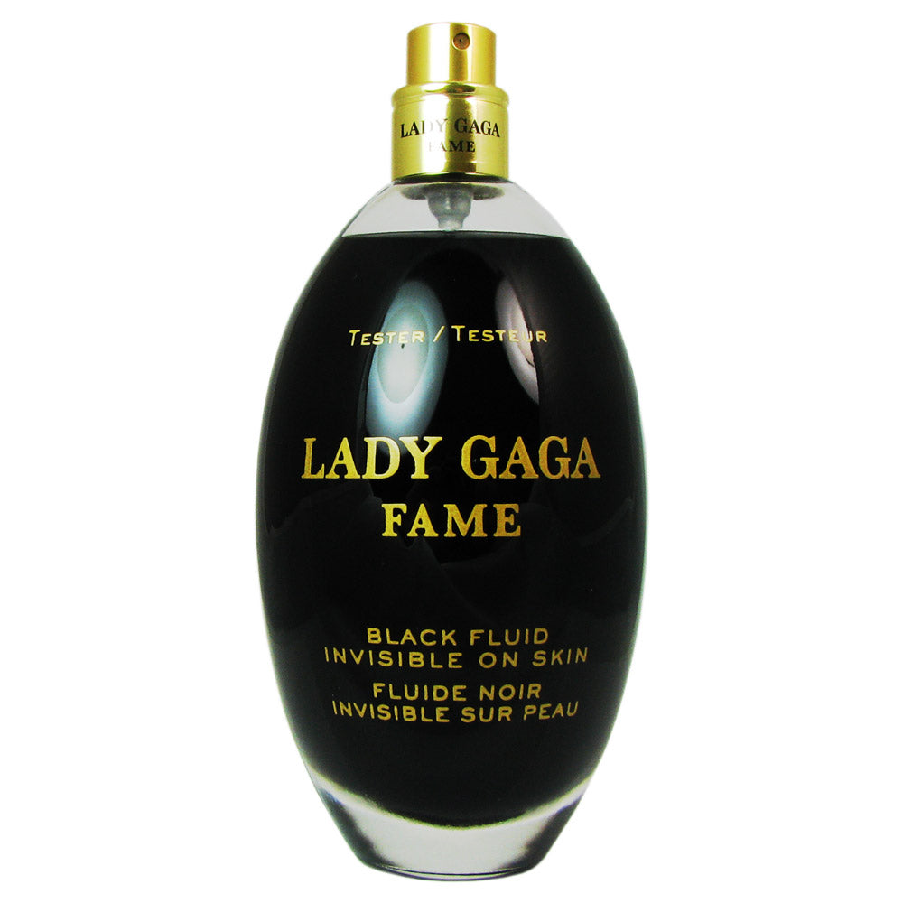 Lady Gaga Fame Black Fluid for Women By Lady Gaga 3.4 oz Eau de Parfum Spray Tester