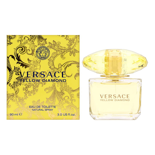 Yellow Diamond by Versace for Women 3.0 oz Eau de Toilette Spray