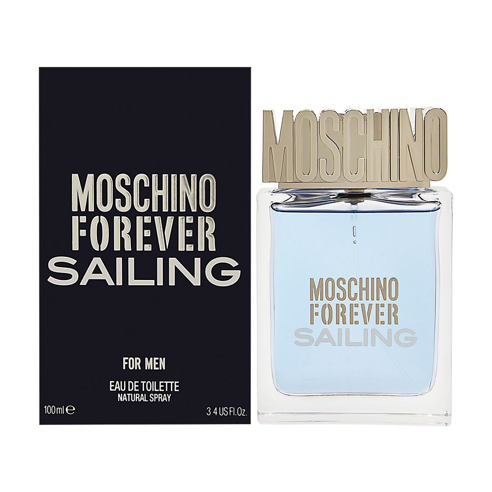 Moschino Forever Sailing for Men 3.4 oz Eau de Toilette Spray