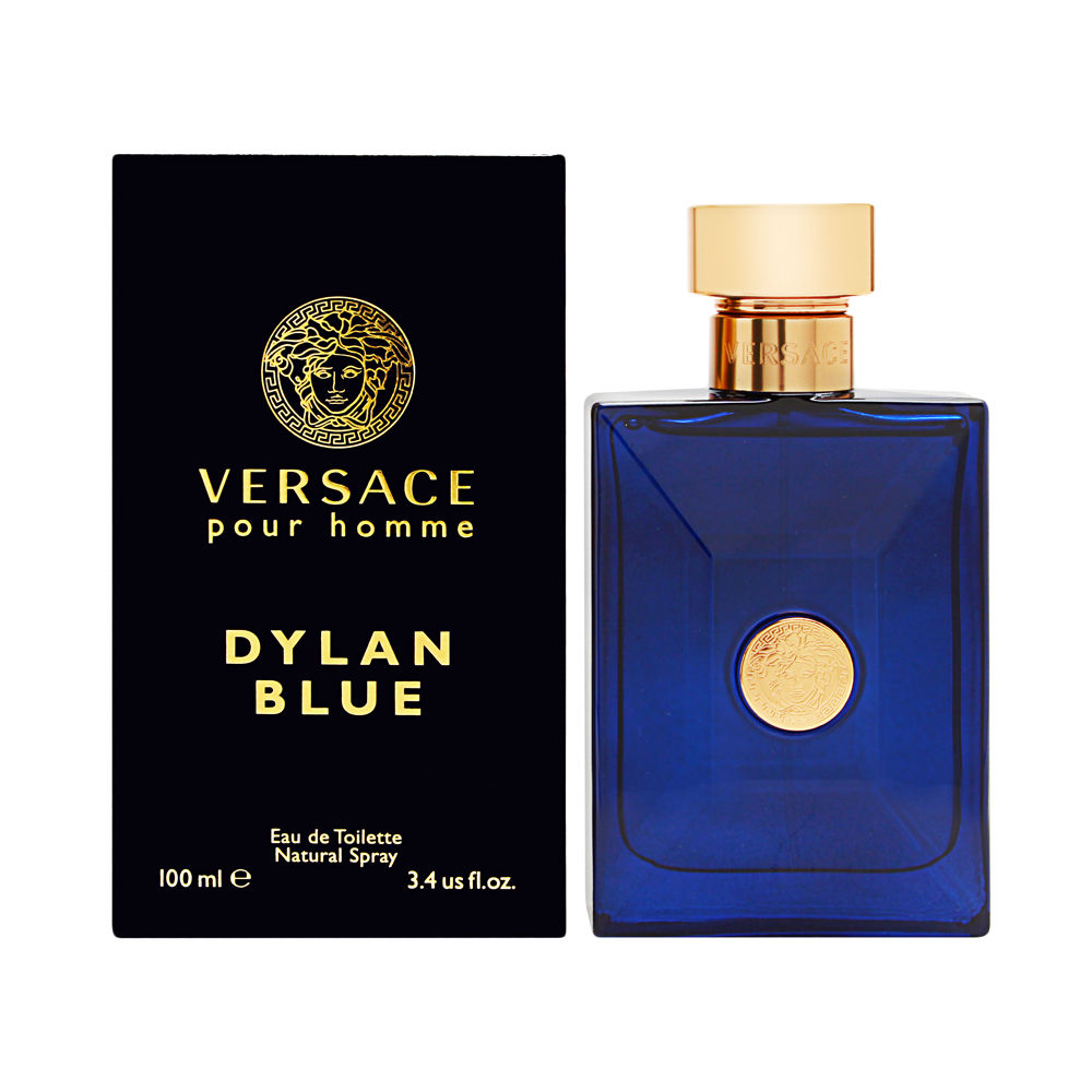Versace Pour Homme Dylan Blue for Men 3.4 oz Eau de Toilette Spray
