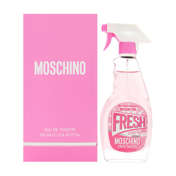 Moschino Pink Fresh Couture for Women 3.4 oz Eau de Toilette Spray