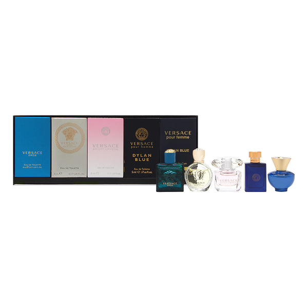 Versace Miniatures Collection Unisex 5 Piece Set 5 Piece Set