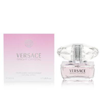Versace Bright Crystal by Versace for Women 1.7 oz Perfumed Deodorant Spray