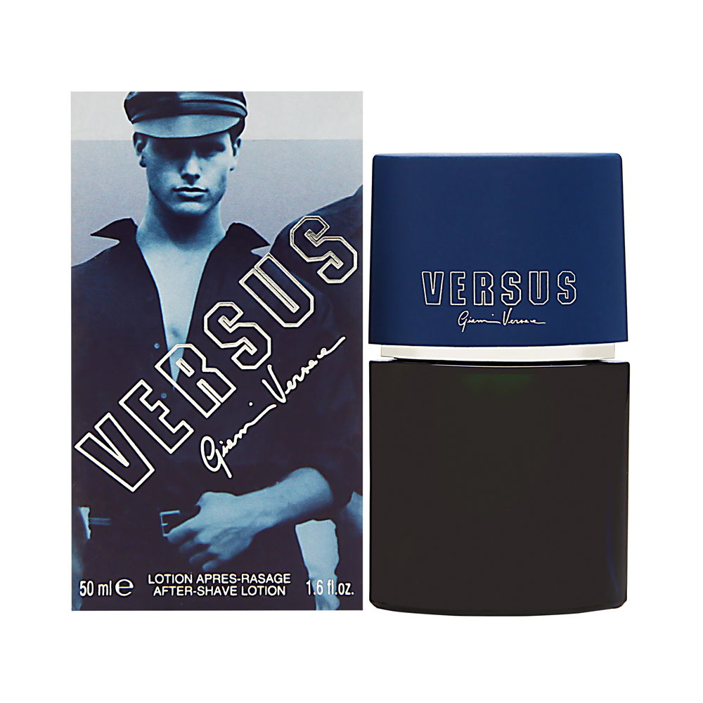 Versus by Versace for Men 1.7 oz After Shave Pour (Box Slightly Damaged)