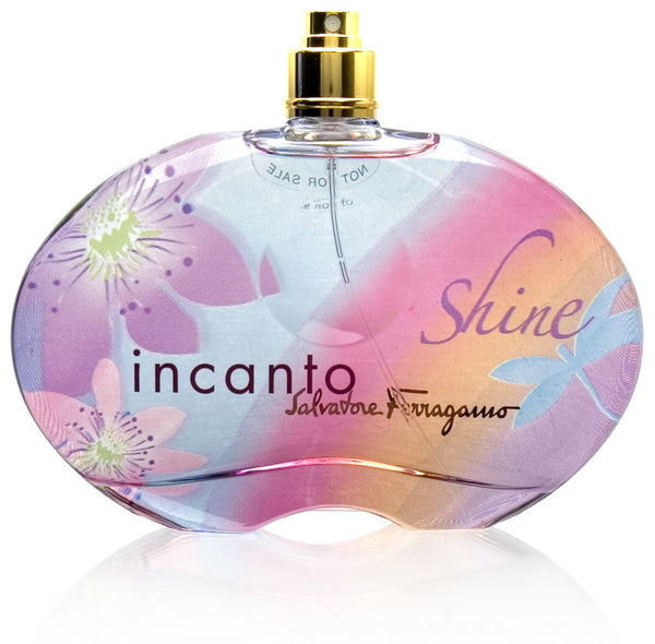 Incanto Shine by Salvatore Ferragamo for Women 3.4 oz Eau de Toilette Spray (Tester no Cap)