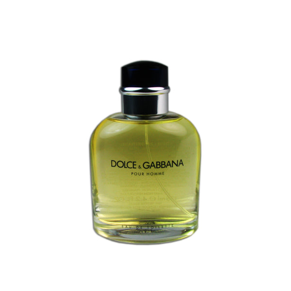 Dolce & Gabbana for Men 4.2 oz Eau de Toilette Spray Tester