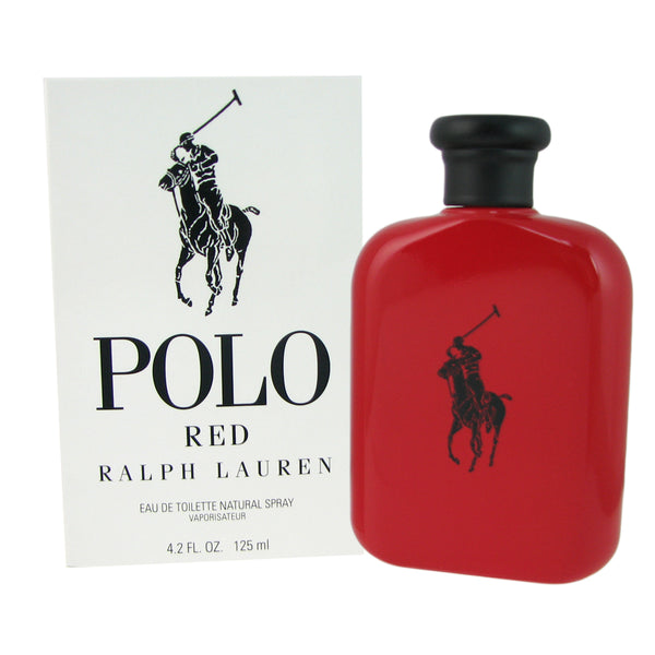 Polo Red for Men by Ralph Lauren 4.2 oz Eau de Toilette Spray Tester/Unboxed