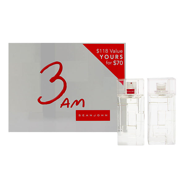 3 AM by Sean John Fragrances for Men 2 Piece Set Includes: 3.4 oz Eau de Toilette Spray + 3.4 oz After Shave Pour