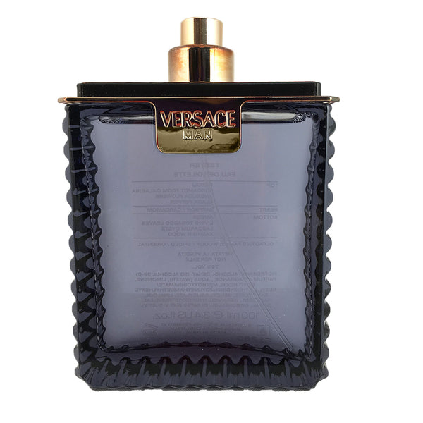 Versace Man 3.4 oz 100 ml Eau de Toilette Spray Tester