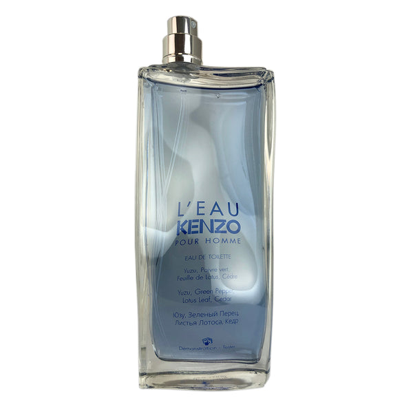 L'eau Par Kenzo For Men by Kenzo 3.3 oz Eau De Toilette Spray Tester