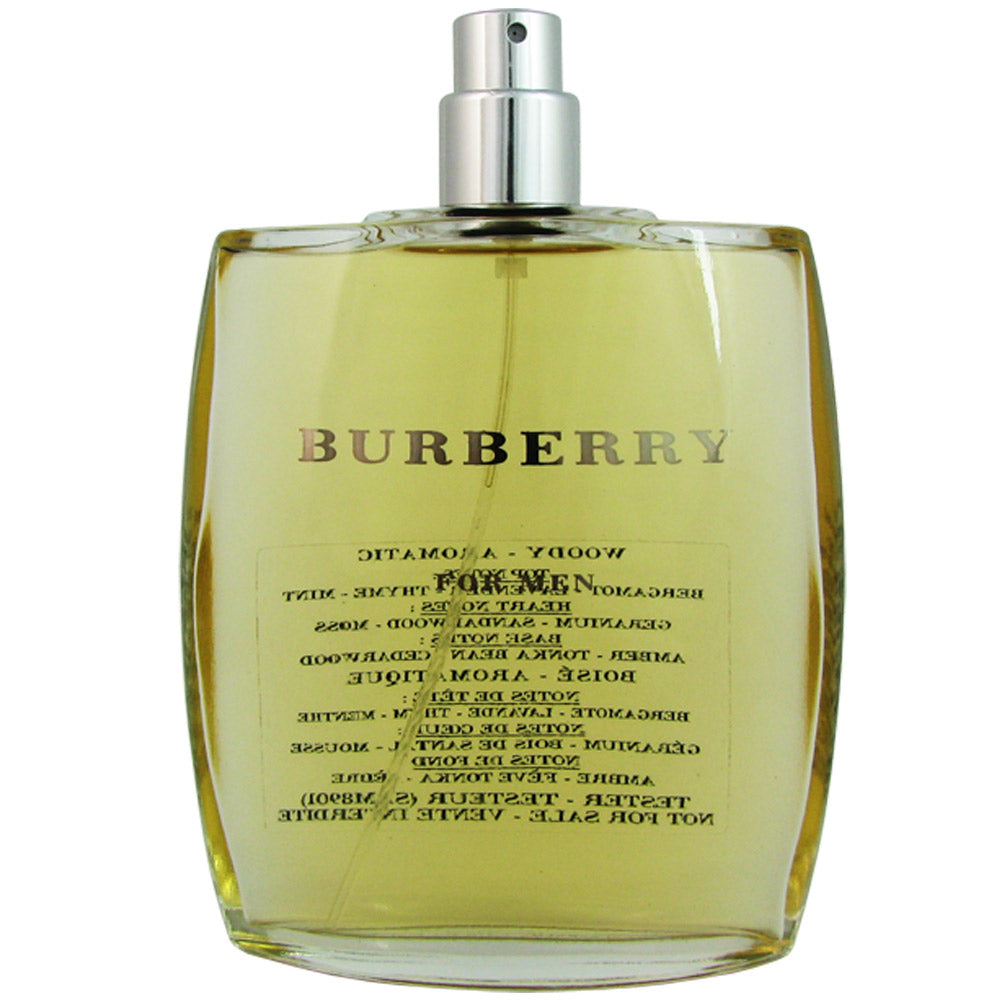 Burberry Classic for Men 3.3 oz Eau de Toilette Spray Tester