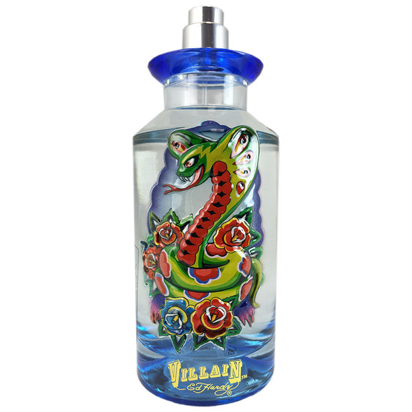 Ed Hardy Villain for Men 4.2 oz Eau de Toilette Spray Tester
