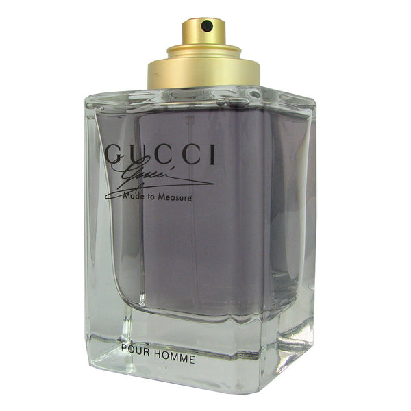 Gucci Made to Measure for Men 3 oz Eau de Toilette Spray Tester